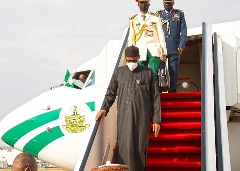 Breaking: President Buhari Returns After UK Medical Trip